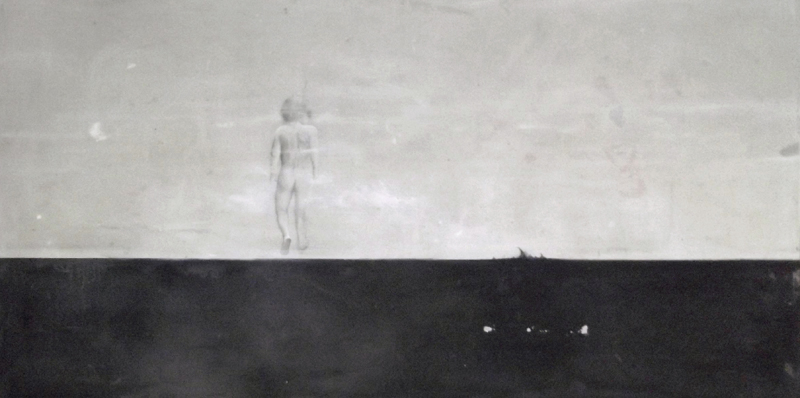 'Lost ' oil on linnen (2012) 104 x 204 cm